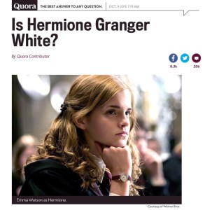 Is Hermione White