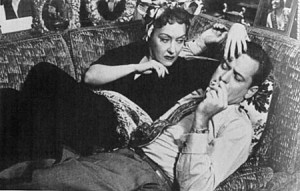 Over the hill at 50. In Sunset Boulevard from 1950, the idea of a romance between the 32-year-old William Holden and the 50-year-old Gloria Swanson was depicted as ridiculous.