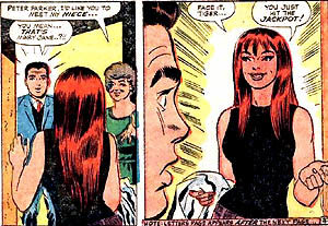 "Mary Jane Watson as she ""really"" looks."